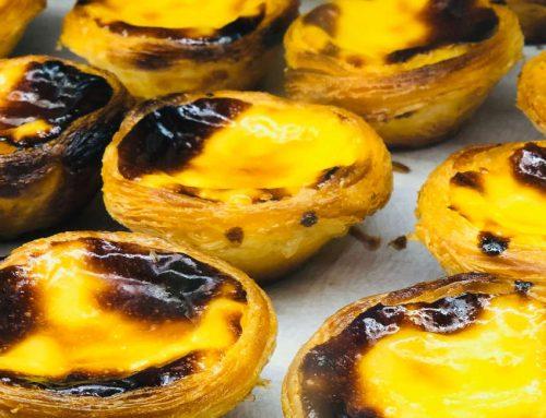 Frozen Portuguese Custard Tarts