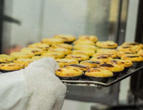 Pasteis de nata congelados, crus ou cozidos
