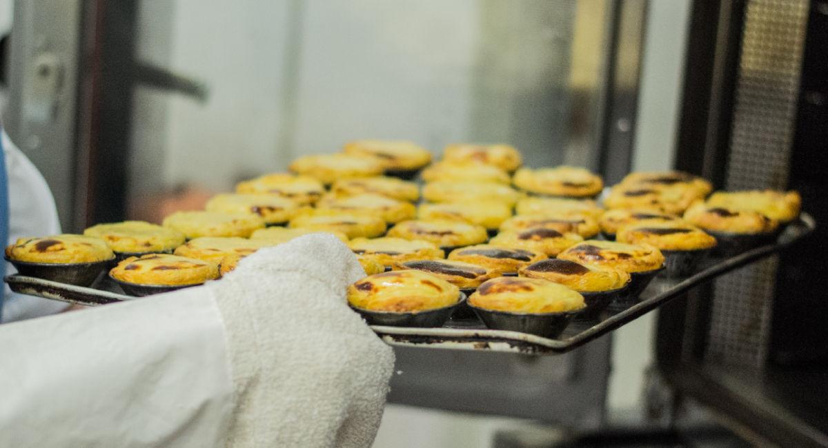 pasteis de nata congelados